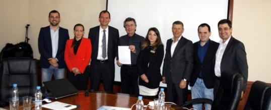 Меморандум за сътрудничество между УАСГ и HTI