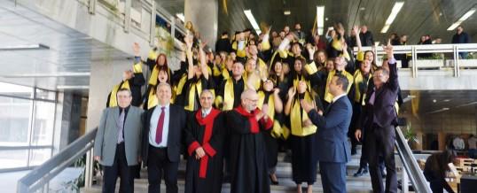Тържествено връчване на дипломите на абсолвентите на ФТС на 24.11.207