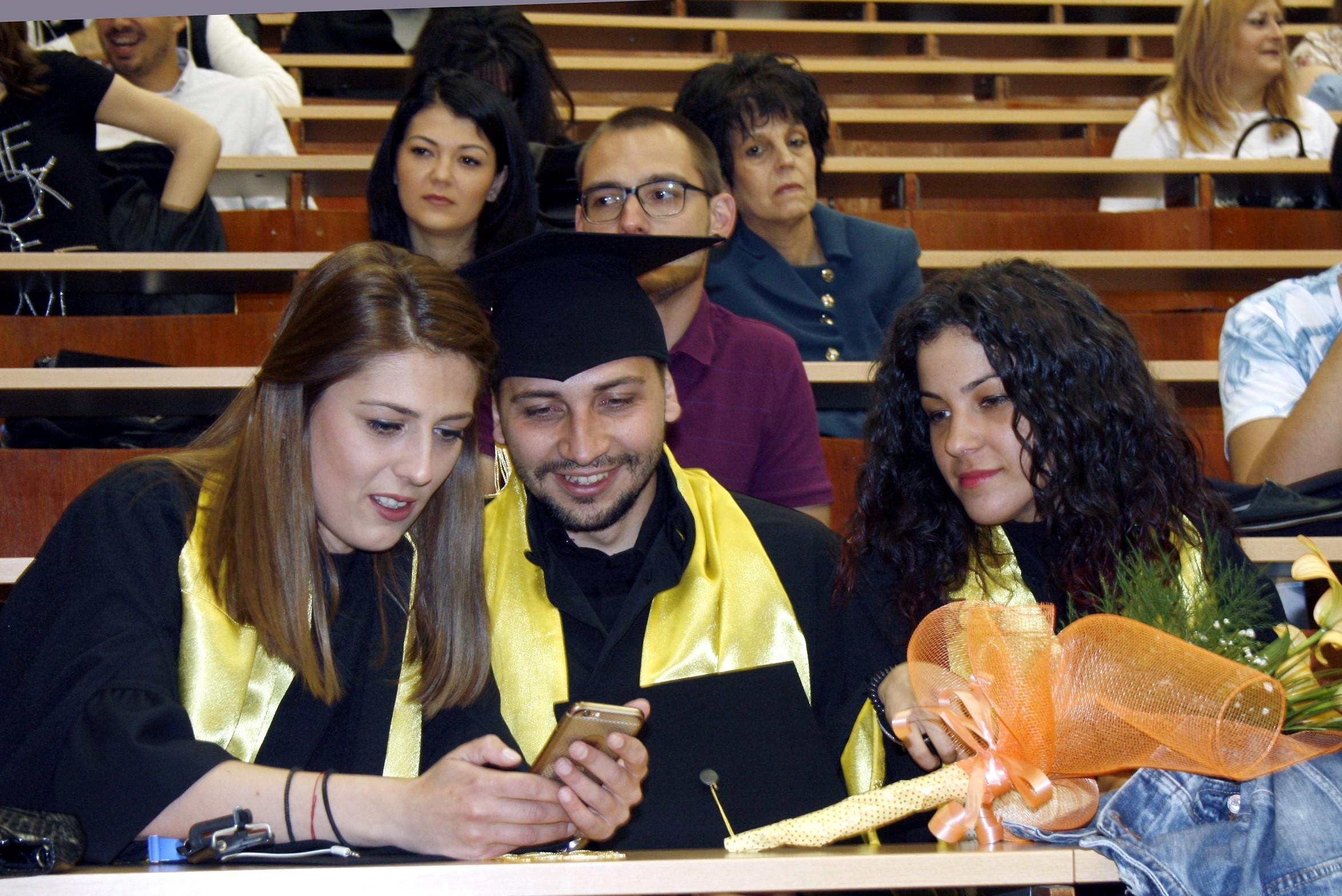 Тържествено връчване на дипломи във ФТС на 20.04.2018 г.