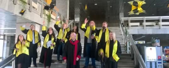 На 24.04.2019 г. се дипломираха випускници на ФТС